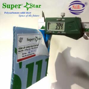polycarbonate super star 4mm